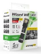 WIZARD WR white light 1300lm + Red light 320lm magnetic charger usb